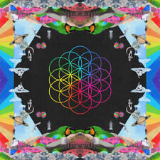 COLDPLAY Head Full of Dreams 2-LP Pink / Blue Color Chainsmokers LP Los Unidades