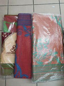Indian Style Rug Oriental Premium Quality Carpet, Plastic Chatai 5.5FT X 6FT