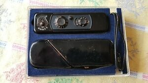 Vintage Black Minox B Camera Original Box With Instructions Very Good Condition