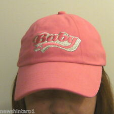 #RR.  GIRL'S / LADY'S PINK CAP - BABY / DIRTY DANCING