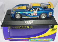 SUPERSLOT H2522 DODGE VIPER COMPETITION COUPE 3-R RACING #22 SCALEXTRIC UK MB