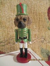 Puggle ~ Nutcracker Dog Soldier Ornament #122