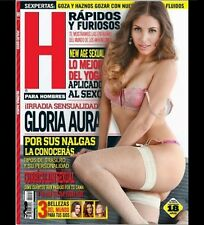 REVISTA H MEXICAN MAGAZINE GLORIA AURA JUL 2013  H PARA HOMBRES NEW/SEALED