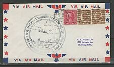 1930 First Flight Cover- Route 33 POD - Fort Worth, Texas - Very Nice Cover