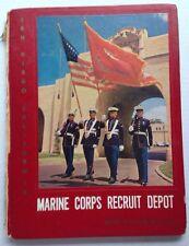 1958 1959 MARINE CORPS RECRUIT DEPOT YEARBOOK, SAN DIEGO, CA, PLATOON 268, USMC