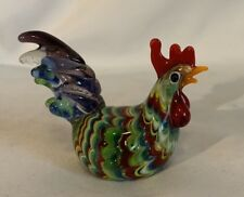 Fitz And Floyd Glass Menagerie Sitting Hen Original Box