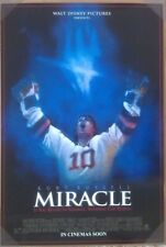 MIRACLE MOVIE POSTER 2 Sided ORIGINAL ROLLED 27x40 KURT RUSSELL
