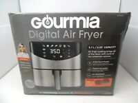 Gourmia 6-Qt  Digital Air Fryer Stainless Steel Used