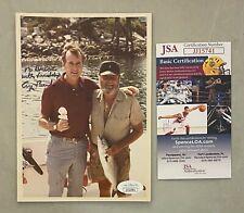 President George H.W. Bush Signed Inscribed 4x6 Photo Autographed Jsa Coa