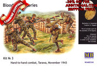 Master Box 3544 WWII Hand-to-Hand Fight, Tarawa 1943 (5 fig.) plastic kit 1/35