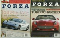 FORZA, The Magazine About FERRARI (Issues #134 & #138) 2014 Set A