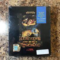 Betrayal At Krondor (1994) Sierra CD-Rom Big Box PC Sealed Complete