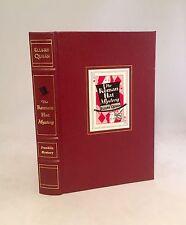 The Roman Hat Mystery-Ellery Queen-TRUE First/1st Franklin Library-Fine Binding
