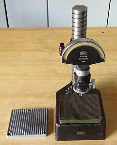Kleinmesstisch Feinzeiger Messuhr Messtisch Messstativ Feinmeßtisch Meßuhrhalter