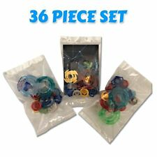 Beyblade 36 Piece Parts Set w/ Tips, Spin Tracks, Energy Rings, Tips, Face Bolts