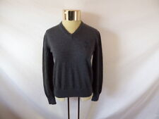 Women's VERSACE COLLECTION Gray V-Neck Sweater Sz S