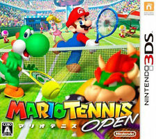 Mario Tennis Open (Nintendo 3DS, 2012) GAME ONLY NICE SHAPE WORKS WELL NES HQ