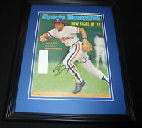 Bump Wills Signed Framed 1977 Sports Illustrated Magazine Cover Rangers