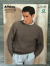 """KNITTING PATTERN TO FIT 30-44/"""" WENDY MELODY SLIPOVER /& WAISTCOAT"""