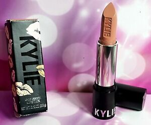 NEW IN BOX FULL SIZE Kylie Cosmetics Creme Lipstick Butterscotch nude peach