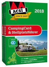 ACSI CampingCard & Stellplatzführer 2018 - inklusive Ermäßigungskarte!