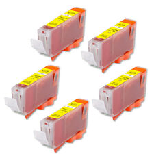 5 NEW YELLOW Ink Cartridge for BCI-6 Canon F50 F60 F80 MP750 MP760 MP780 iP3000