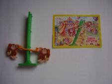 Ü-Ei 1 x Spielzeug - Affenstarke Zirkus Artisten - komplett + BPZ von 2004