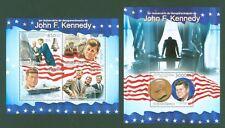 Guinea Bissau 2013 - John F. Kennedy - JFK - John Glenn - Flugzeugträger CV-67