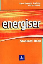 ENERGISER, STUDENTS' BOOK  Elsworth, Rose  LONGMAN