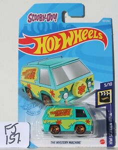 Hot wheels HW Screen Time Mystery Machine Scooby Doo 107/250 FNQHotwheels FJ157