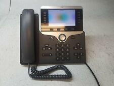 Cisco Cp 8851 Poe Office Business Class Voip Poe Phone Withhandset Amp Stand Reset
