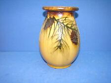 Joli ancien vase décor pomme de pin