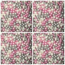 30g Edible Pearls Non Pareils Dragees Sugar Ball Jade White Pi Blue Cake Decor