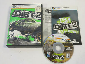 COLIN MCRAE DIRT 2 PC DVD WIN 100% COMPLETE WITH CASE VERY RARE