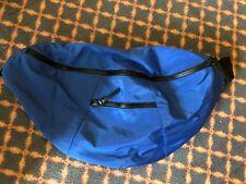 Topman Oversize Blue Giant Bumbag Waist Bag Style Backpack Messenger Bag