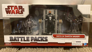 Star Wars Battle Packs Birth of Darth Vader Hasbro MISB