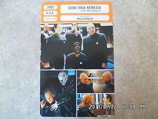 CARTE FICHE CINEMA 2002 STAR TREK NEMESIS Tom Hardy Ron Perlman
