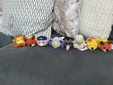 Disney Store Zootopia Mini Tsum Tsum Set Plush Bundle