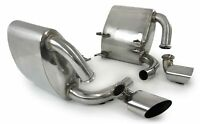 stainless steel exhaust silencer and tail pipes for Porsche 911 996 C2 C4