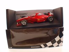 Minichamps 180 980094 F1 Ferrari Irvine #4 neuf 1/18 boxed / en boîte MIB