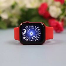 Smart Watch 2021 Ak76 Games Fitness Iphone Android fullHD Series 6 Red Running