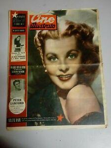 Giornale Cine Illustrato 10 Luglio 1949  n°28 Arlene Dahl John Lund