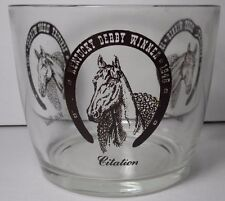 VTG 1960 KENTUCKY DERBY WINNERS BOWL 1941 WHIRLAWAY 1948 CITATION 1952 HILL GAIL