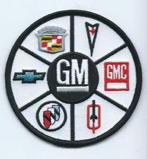 GM Olds Buick Cadillac GMC Pontiac Chevy dark edge patch 3-3/8 #2532