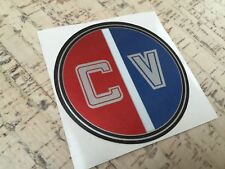 Glastron Carlson CV bow decal for Glastron Carlson