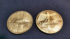 """5 DM Gedenkmünze """"Europäisches Denkmalschutzjahr"""" von 1975 - F"""