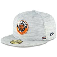 New Era NFL Chicago Bears On Field Sideline Hat 59Fifty 5950 Size 7 5/8 NEW