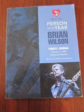 BRIAN WILSON MusiCares auction catalog Beach Boys 2005