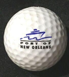 Port of New Orleans NOLA Logo Golf Ball Acushnet Special