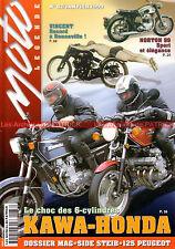 MOTO LEGENDE  87 KAWASAKI Z1300 HONDA CBX 1000 MAG NORTON 99 GUZZI California
